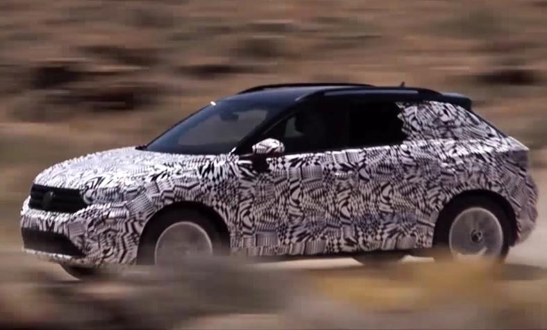 Новий кросовер Volkswagen T-Roc показали на офіційному відео
