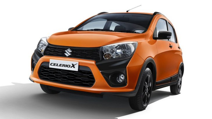 Suzuki представила новий крос-хетчбек Celerio X