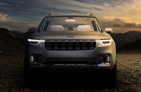 Jeep готує новий кросовер Grand Commander