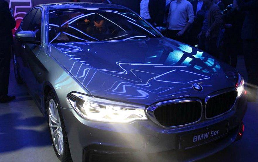 В Україні відбулася презентація нового BMW 5 G30