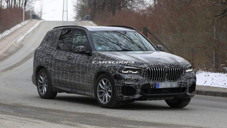 Новий BMW X5 2019 скидає камуфляж