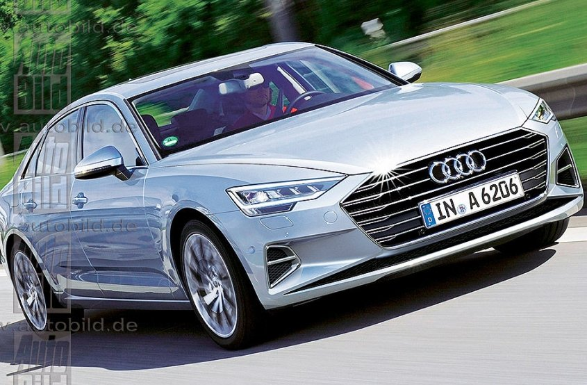Cвіжі подробиці про нову Audi A6