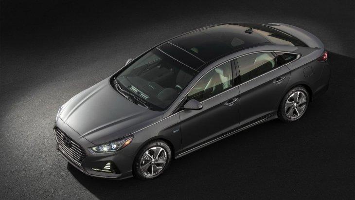 Озвучені ціни оновленого седана Hyundai Sonata Hybrid
