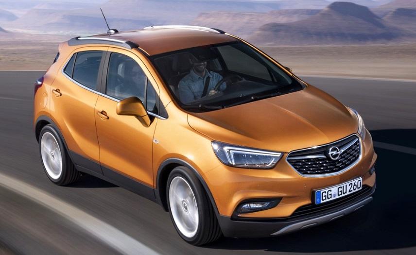 Новий кроссовер Opel Mokka X виходить на ринок