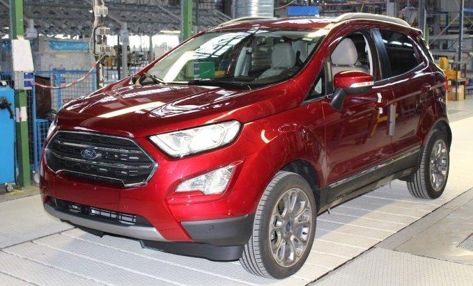 Почалося виробництво оновленого Ford EcoSport