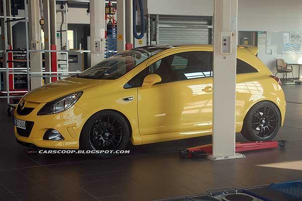 Opel Corsa OPC Nuerburgring засвітився