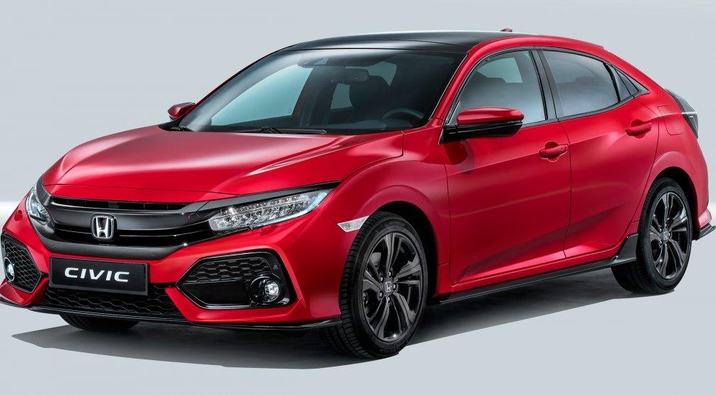 Honda офіційно розсекретила новий Civic