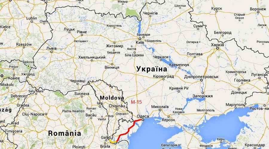 В Україні буде перший автобан (КАРТА)