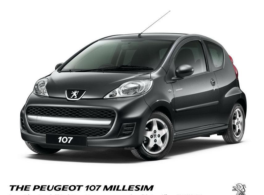 Peugeot 107 Millesim