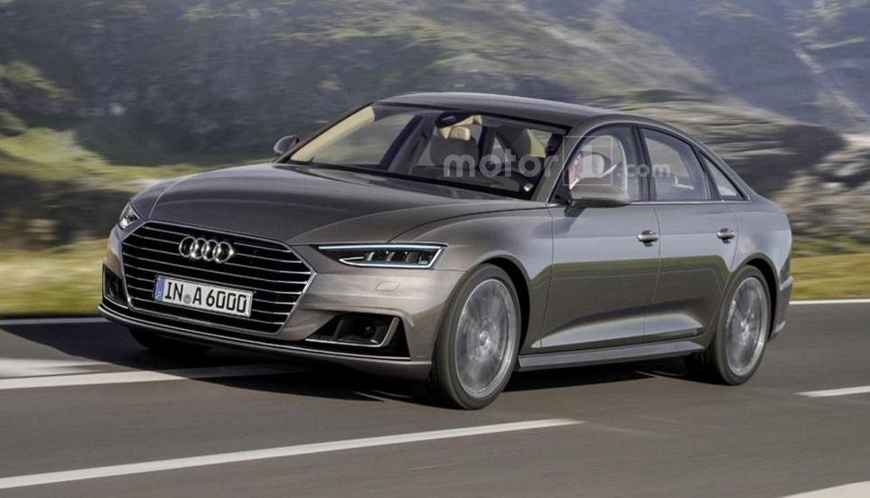 Audi A6 2017: перше зображення новго седана