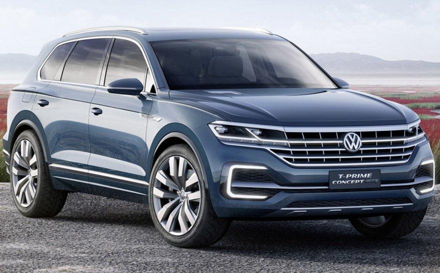 Опубліковано інформацію про новий Volkswagen Touareg