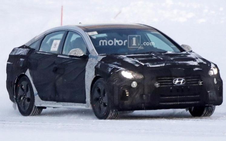 Помічено седан Hyundai Sonata 2018