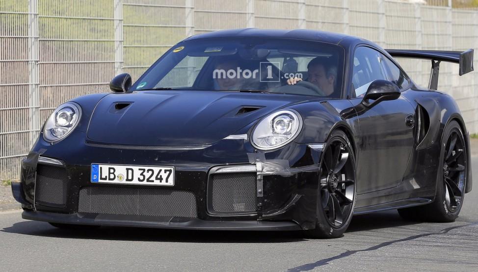 Новий Porsche 911: перша офіційна інформація