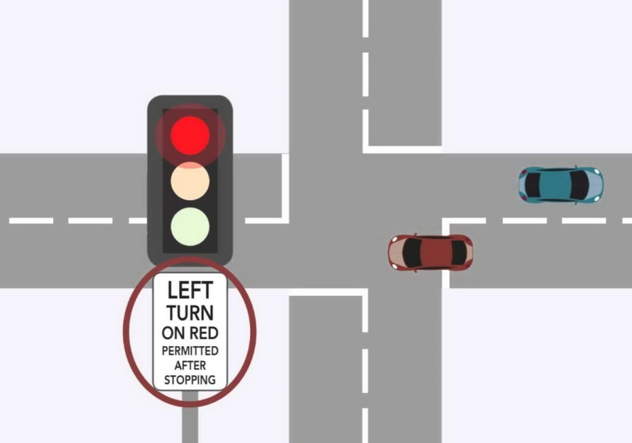 Водіям в Україні дозволять поворот на червоний без стрілки