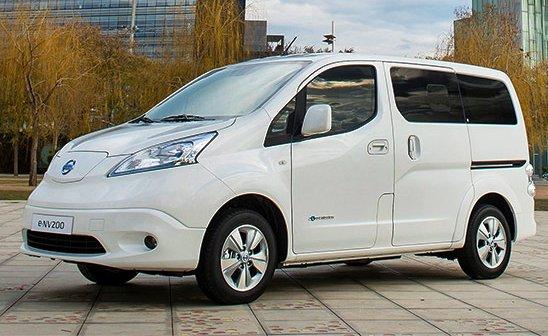 Nissan збільшив запас ходу електричного e-NV200