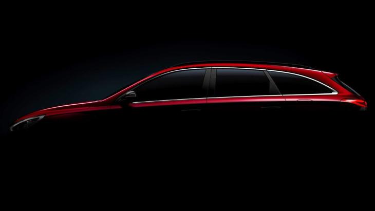 Hyundai вперше показала профіль універсалу i30 Wagon