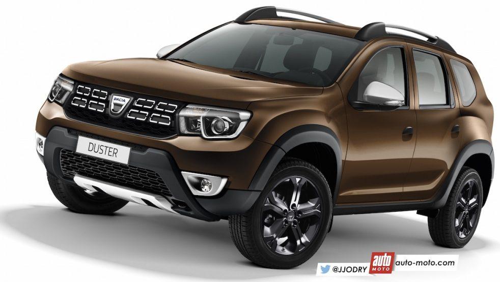 Renault Duster 2018: нове зображення