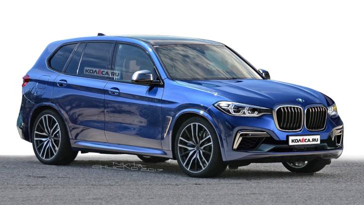 BMW X5 дебютував на нових зображеннях