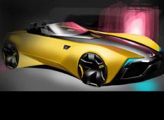 Honda показала дизайн-проект родстера S2000 на 2020 рік