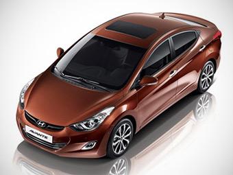 Hyundai оновила седан Elantra