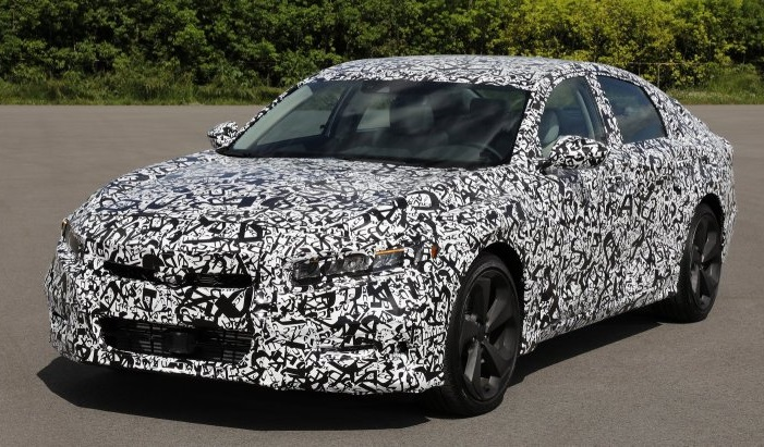 Седан Honda Accord 2018: перша оіційна інформація