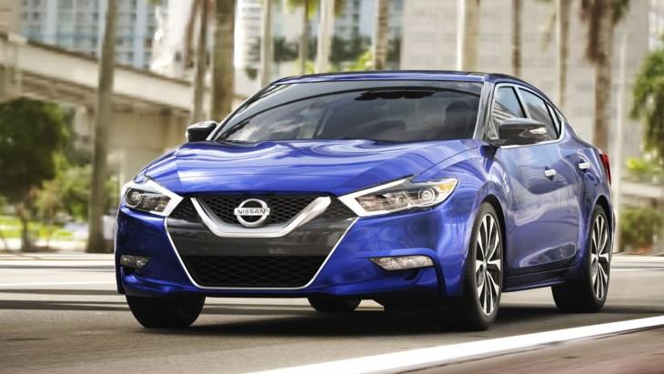 Оновлений седан Nissan Maxima 2018 модельного року