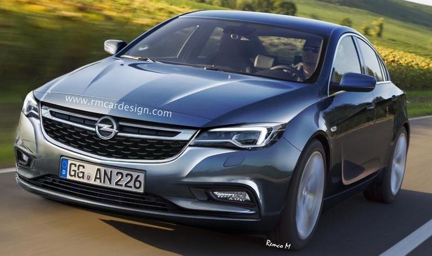 Перше зображення седана Opel Insignia 2016