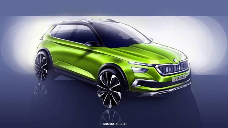 Новий «паркетник»: Skoda показала кросовер Vision X Concept
