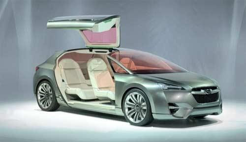 Subaru представив гібридний Tourer