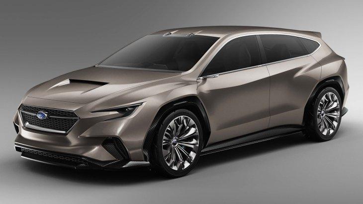 Subaru представила новий універсал: повний привід та агресивний дизайн