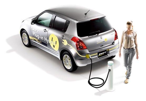 Suzuki Swift заряджатиметься від розетки