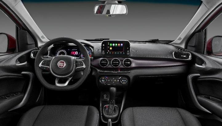 FIAT розсекретив інтер'єр седана Cronos