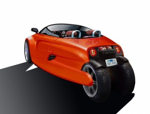 T3 Motion GT3: електрокар на трьох колесах