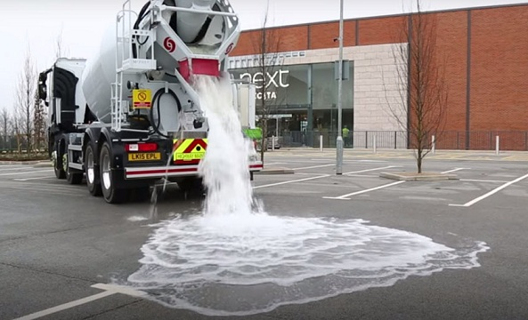 Автомобільні дороги зможуть поглинати дощову воду