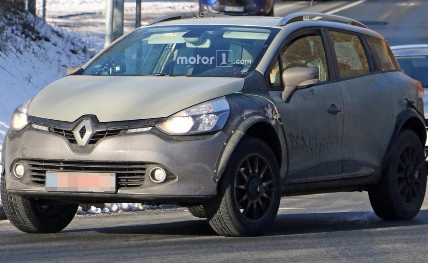 Renault Captur 2018 вже проходить тестування