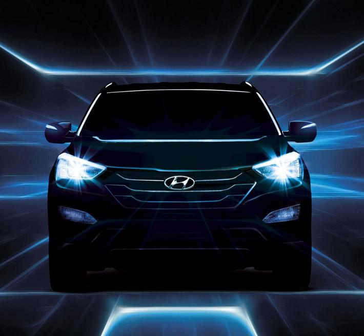 Офіційні тизери Hyundai ix45