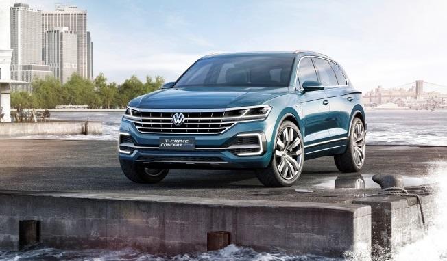 Volkswagen анонсував прем'єру нового Touareg