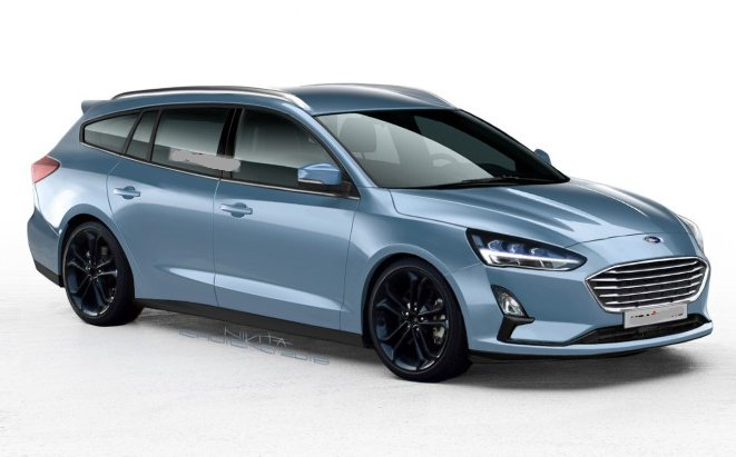Універсал Ford Focus нового покоління: перші зображення