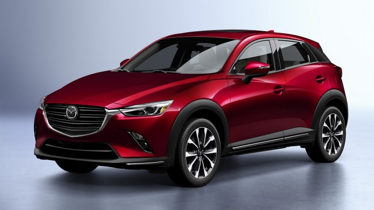 Mazda представила оновлений кросовер CX-3