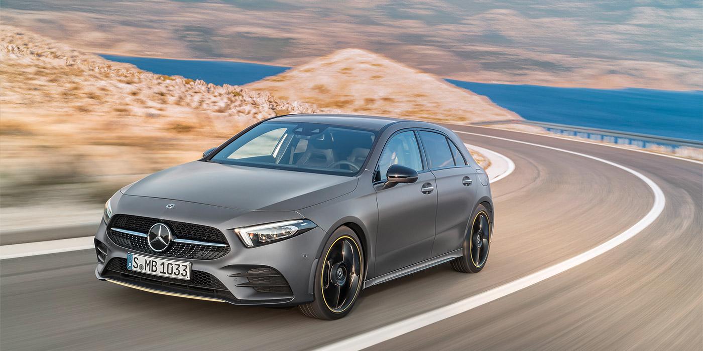 Mercedes представив A-Class нового покоління