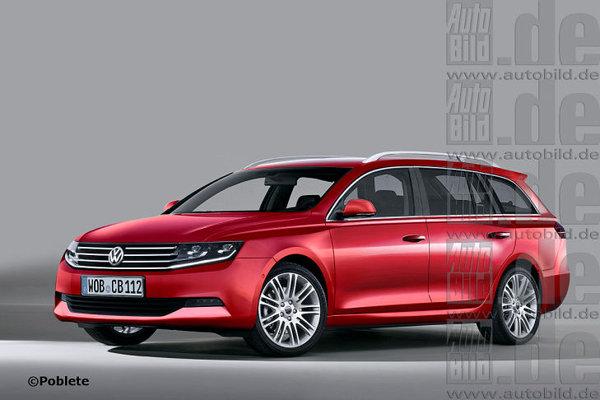 Новий Volkswagen Passat 2014 року