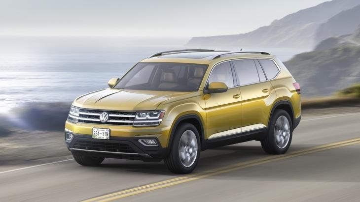 Volkswagen готує новий Atlas