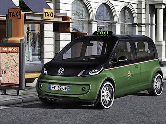 Електричне таксі від Volkswagen