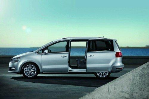 Новий Volkswagen Sharan - відома ціна