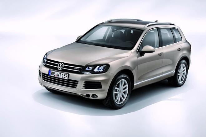 Кросовери Volkswagen Tiguan і Touareg отримають