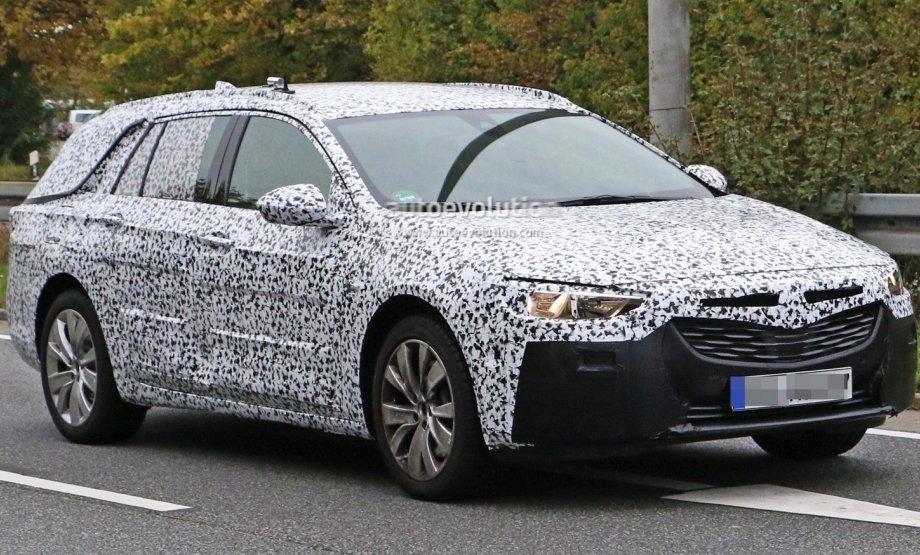 Перші зображення нового Opel Insignia 2017