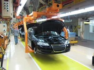 За чотири місяці падіння виробництва автомобілів - 90%