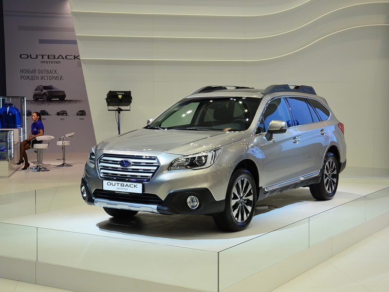 Subaru розповіла про майбутнє Tribeca