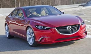 Mazda опублікувала нові фотографії концепту Takeri (Mazda6)