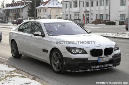 Шпигунські фотографії 2013 BMW Alpina B7